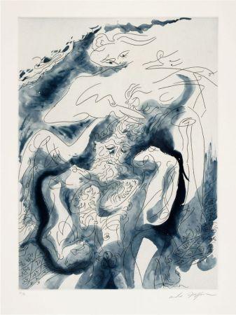 Eau-Forte Et Aquatinte Masson - Samson et Dalila des