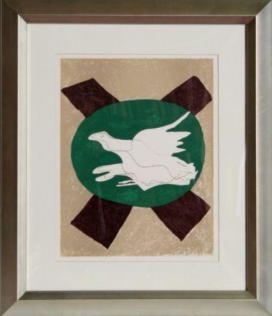 Lithographie Braque -  San Lazarro et Ses Amis