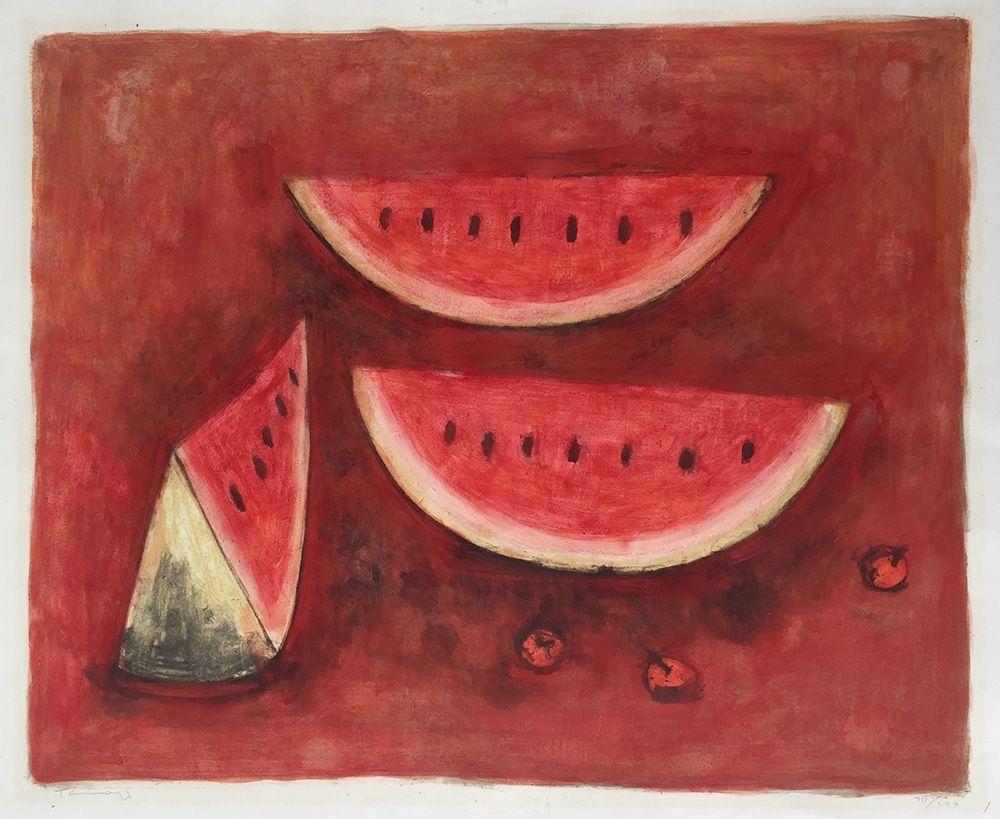 Lithographie Tamayo - Sandias