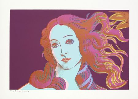 Sérigraphie Warhol - Sandro Botticelli, Birth of Venus, 1482 (FS II.317)