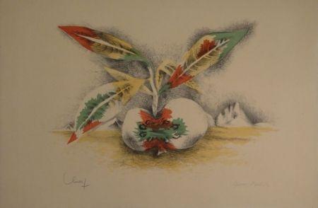 Lithographie Lurcat - Sang et Vie