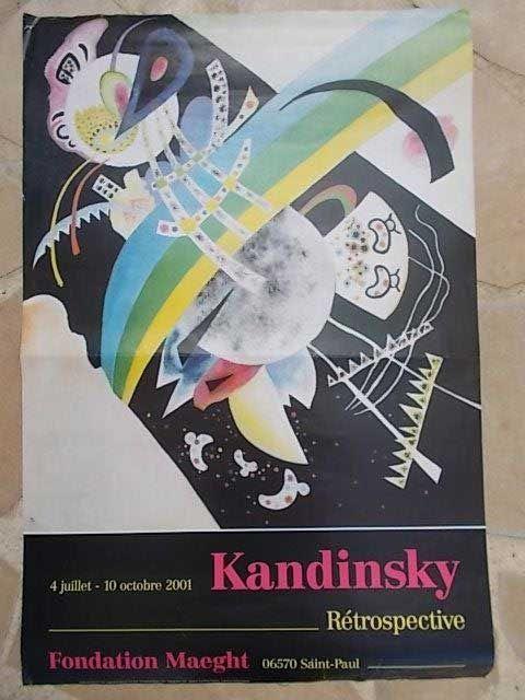 Affiche Kandinsky - Sans