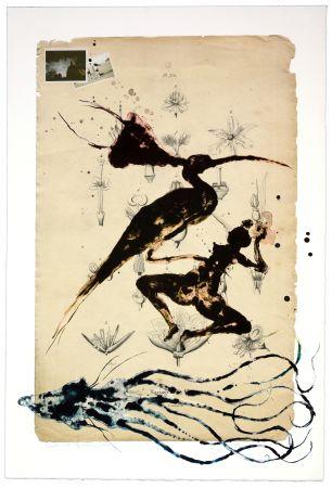 Lithographie Olguin - Sans itre