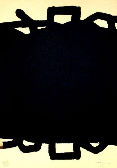 Lithographie Chillida - Sans titre