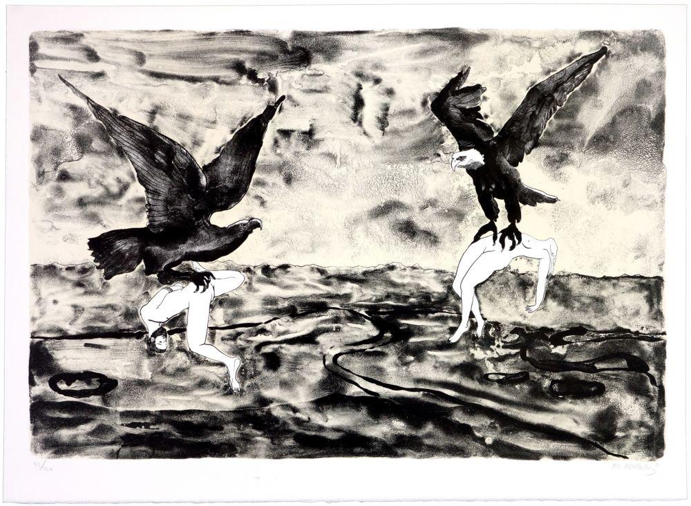 Lithographie Mørkeberg - Sans titre