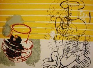 Lithographie Grau - Sans titre