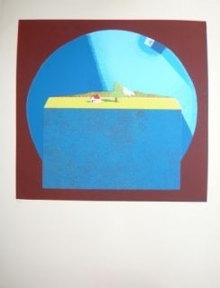 Lithographie Bertholo - Sans titre