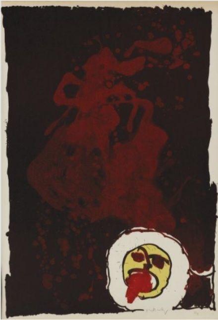 Lithographie Alechinsky - Sans Titre