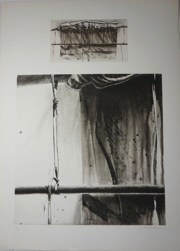 Lithographie Titus Carmel - Sans titre