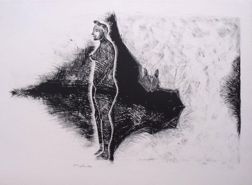Lithographie Toledo - Sans Titre