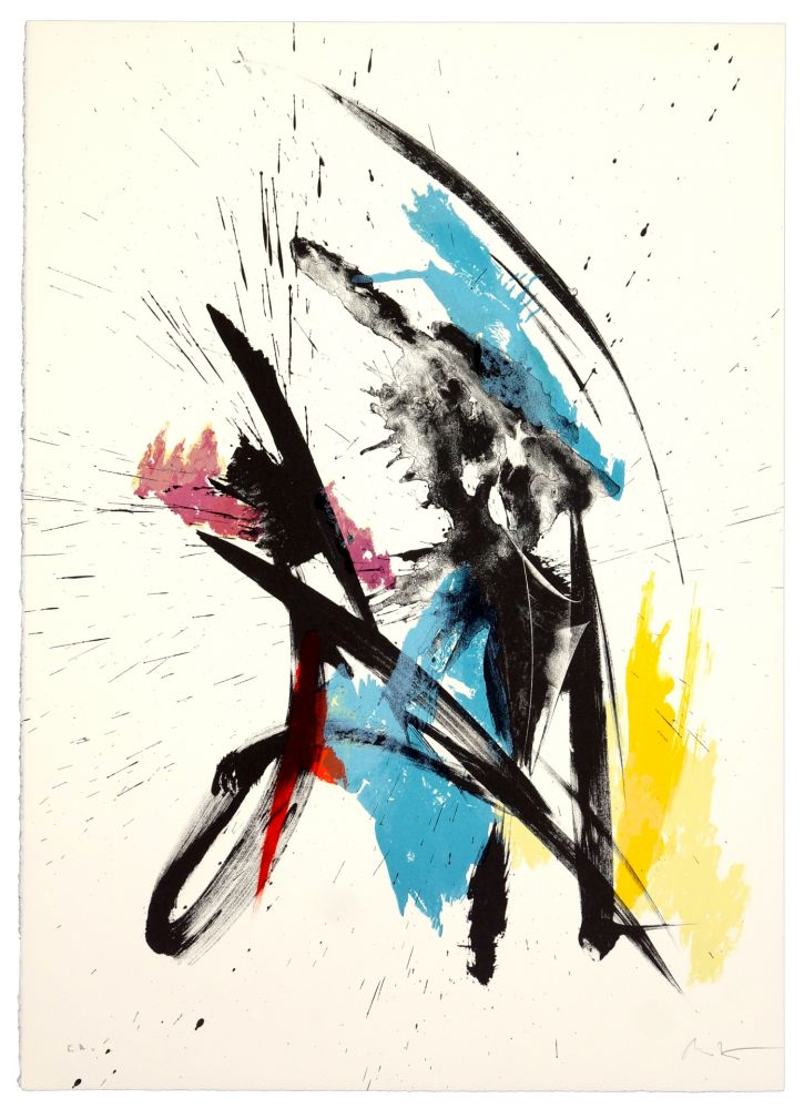 Lithographie Miotte - Sans titre