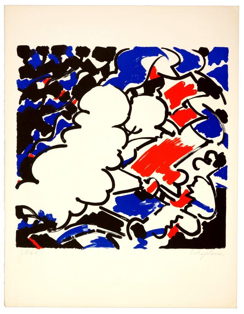 Lithographie Wyckaert - Sans titre