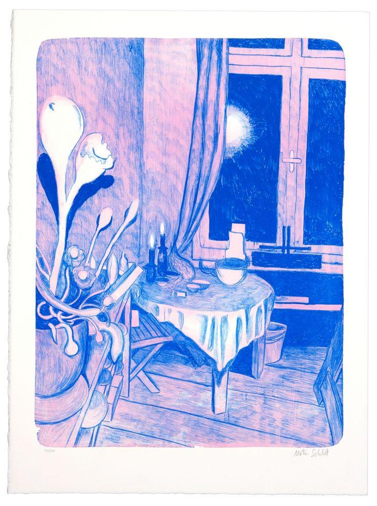 Lithographie Schelde - Sans titre