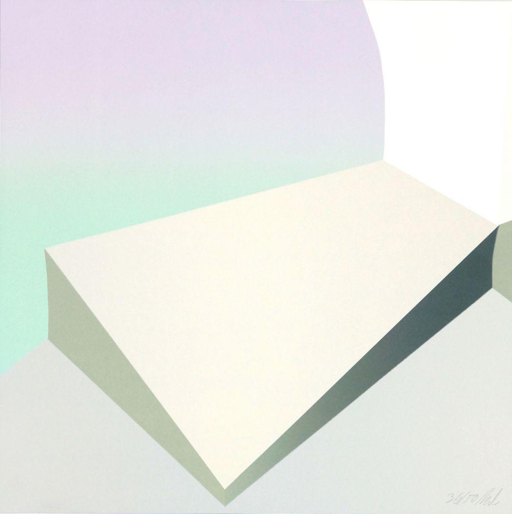 Lithographie Roussopolos - Sans titre