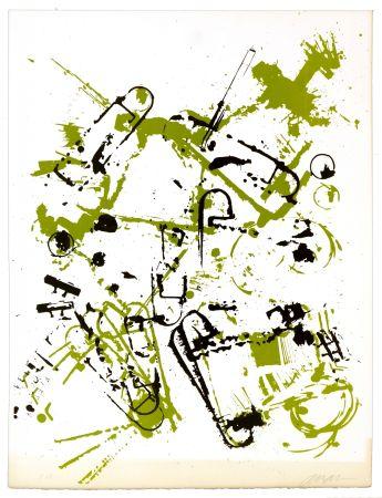 Lithographie Arman - Sans titre