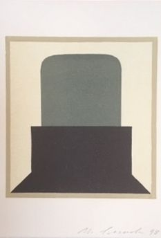 Linogravure Spescha - Sans titre