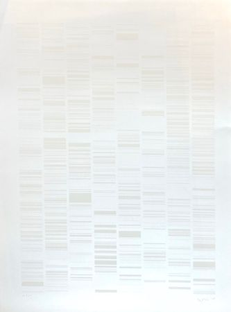 Sérigraphie Ikeda - Sans Titre