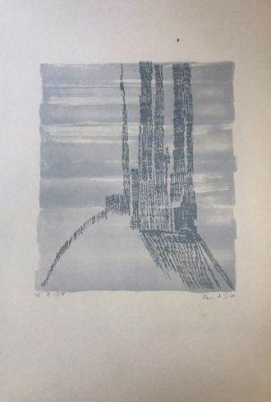 Lithographie Vieira Da Silva - Sans titre