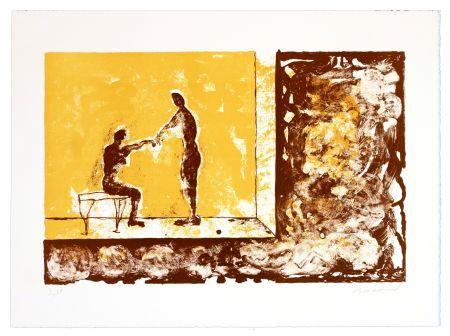 Lithographie Brisson - Sans Titre