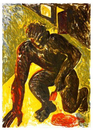 Lithographie Barcelo - Sans titre