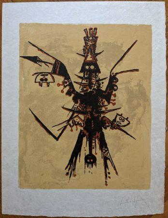 Lithographie Lam - Sans titre