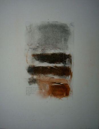 Lithographie Mitchell - Sans titre