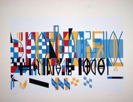 Sérigraphie Afonso - Sans titre