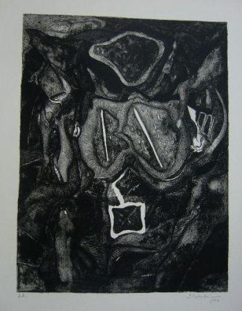 Lithographie Schoendorff - Sans titre