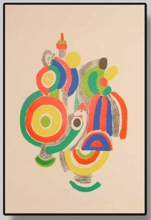 Lithographie Delaunay - Sans titre