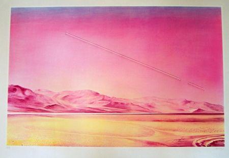 Lithographie Monory - Sans titre