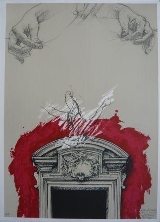 Lithographie Pignon-Ernest - Sans titre