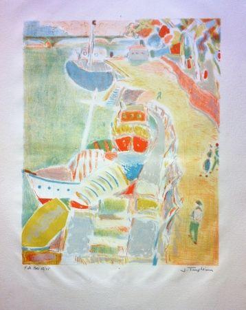 Lithographie Truphemus - Sans titre