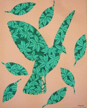 Sérigraphie Magritte - Sans titre