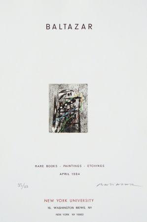 Eau-Forte Baltazar - Sans titre