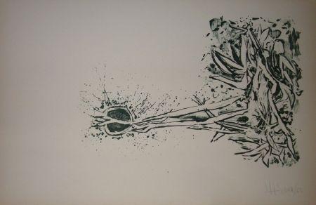 Lithographie Silva - Sans titre