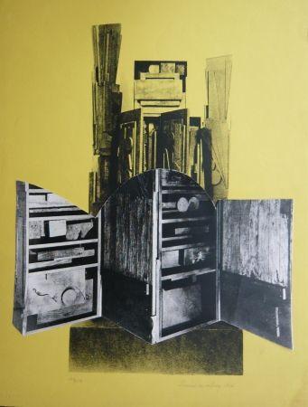 Sérigraphie Nevelson - Sans titre