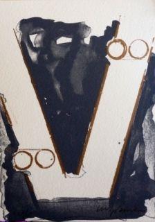 Lithographie Aguilar - Sans titre