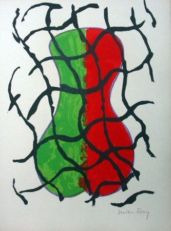 Lithographie Ray - Sans titre