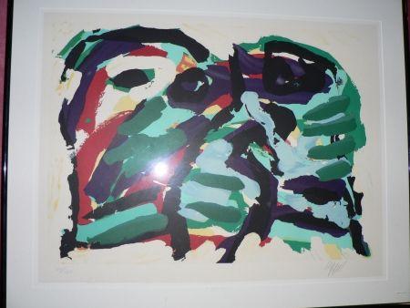 Lithographie Appel - Sans Titre
