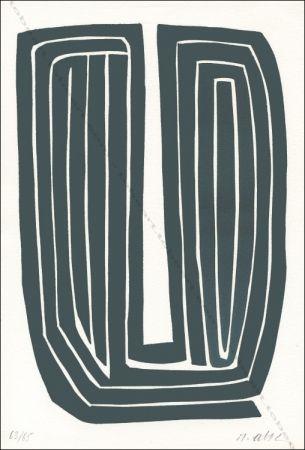 Lithographie Ubac - Sans Titre.