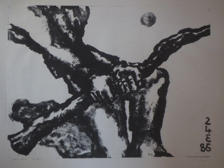 Lithographie Blais - Sans titre