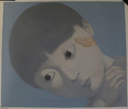 Lithographie Xiaogang - Sans Titre