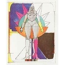Lithographie Lindner - Sans Titre