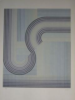 Lithographie Sempere - Sans titre