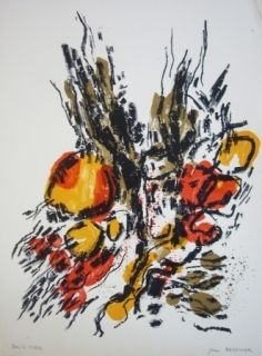 Lithographie Berthier - Sans titre