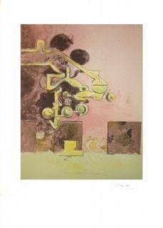 Lithographie Sutherland - Sans Titre