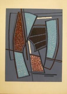 Lithographie Magnelli - Sans titre