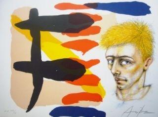 Lithographie Arranz-Bravo - Sans titre