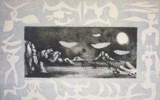Lithographie Lurcat - Sans titre