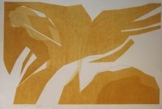 Lithographie Beaudin - Sans titre